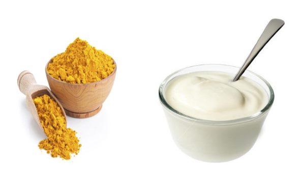 jogurt i kurkuma za mrsavljenje