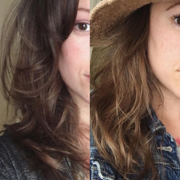 kamilica za posvetljivanje kose iskustva