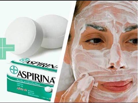 maska za lice od meda jogurta i aspirina