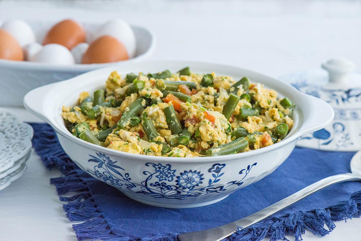 boranija sa jajima recept