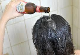 pranje kose pivom