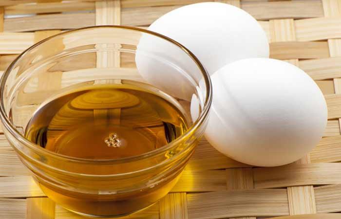maska za kosu od maslinovog ulja i zumanca